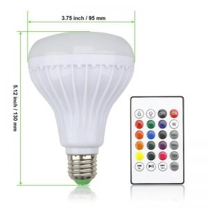 Bluetooth Light Bulb Speaker