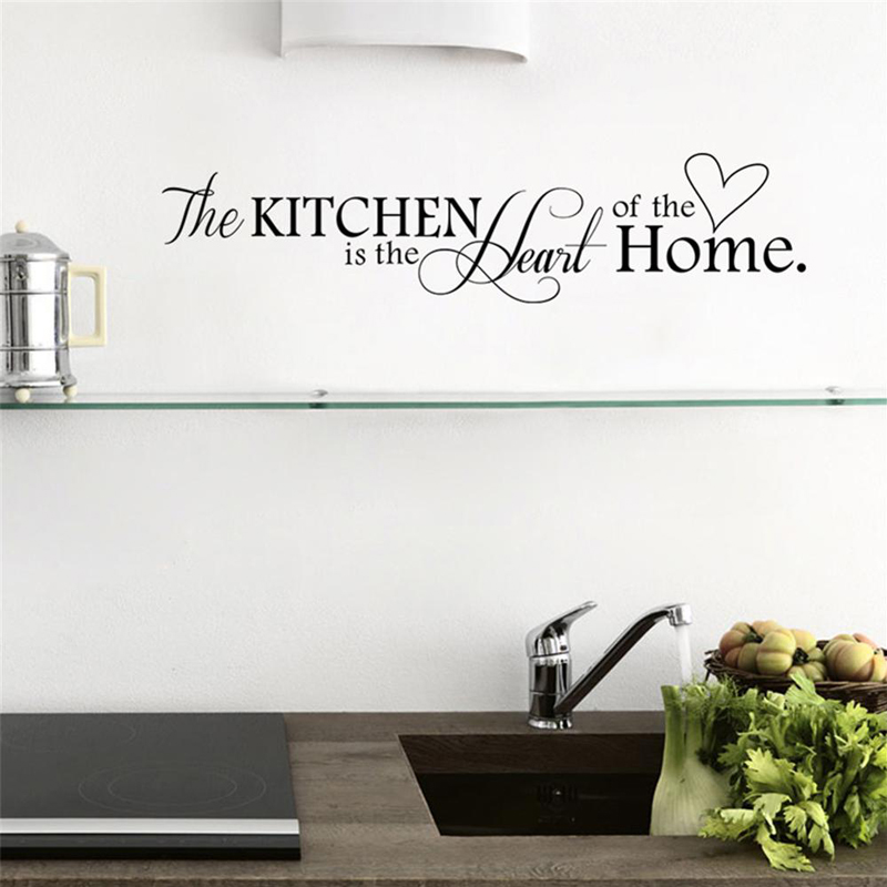 Kitchen Heart Of Home Decal