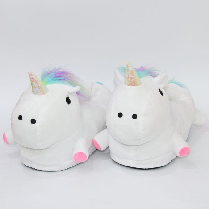 LED Glowing Unicorn Slippers