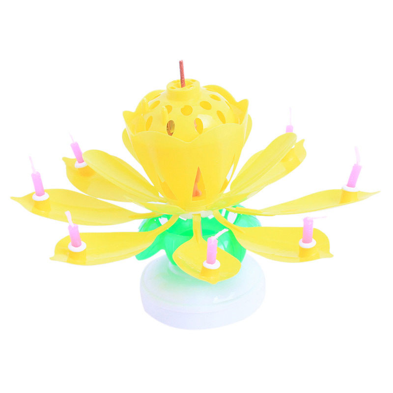 85 Birthday Candles That Open Into A Flower