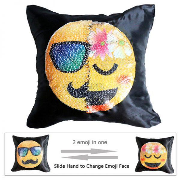 Sequin Emoji Pillowcases