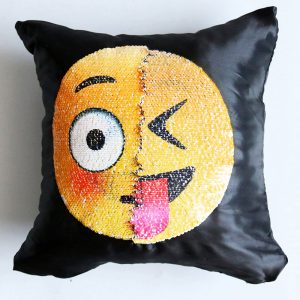 Sequin Emoji Pillowcases